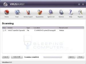 virusburst
